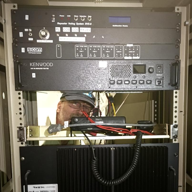 W5FC VHF Stack 146.880