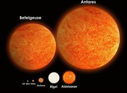antares-betelgeuse